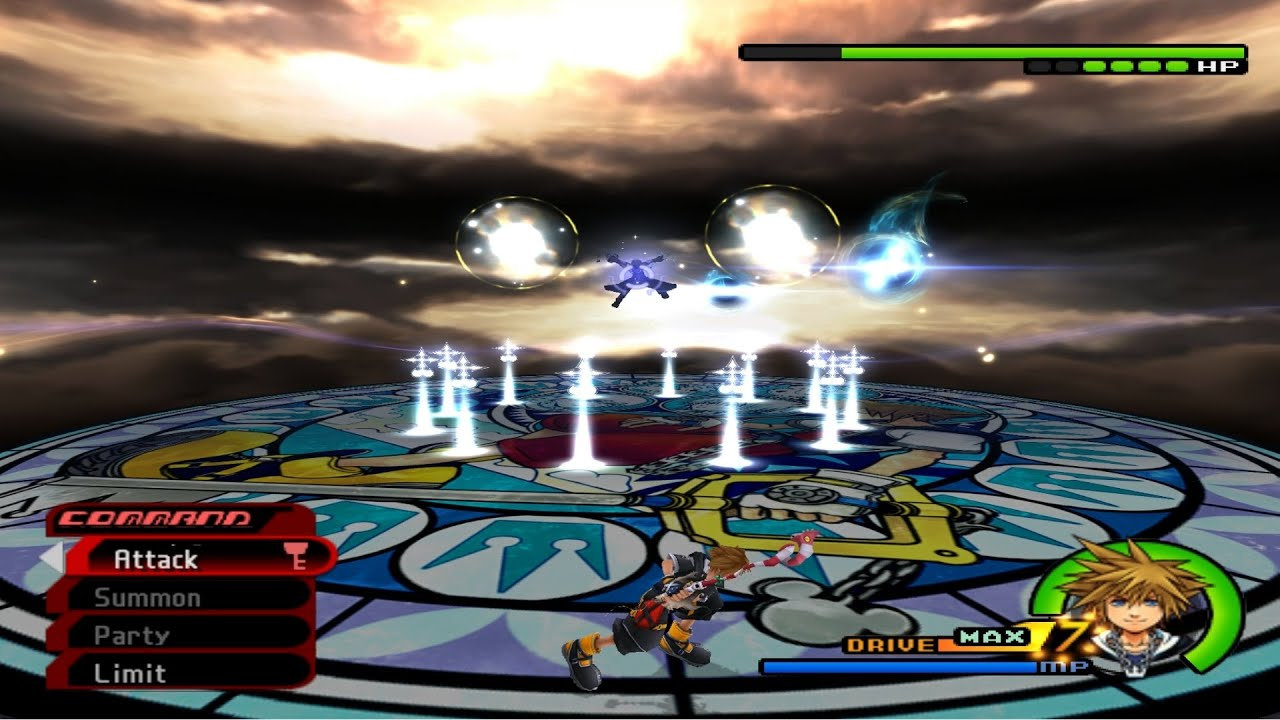 Kingdom Hearts 2 Final Mix: All Bosses on level 1 critical mode ...
