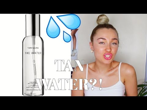 TAN WATER TRY TEST | Tan Luxe The Water Review