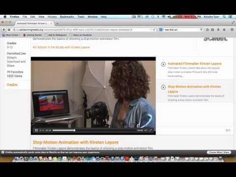 PBS LearningMedia: Visual Arts