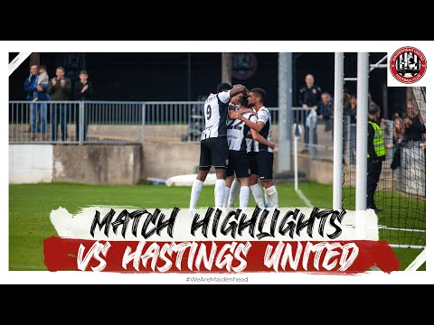Maidenhead Hastings Goals And Highlights