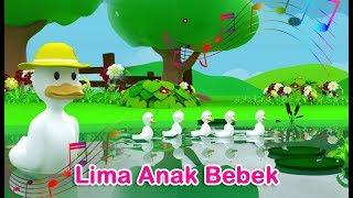 Download Lima Anak Bebek Pergi Berenang (Five Little Ducks )   Nursery Rhyme   Lagu Anak Channel