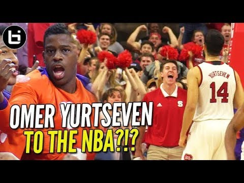 turkey-s-next-nba-star-7ft-omer-yurtseven-looking-nba-ready-vs-top-20-team-in-the-country