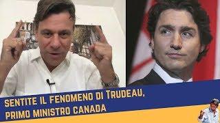 Sentite il fenomeno di Trudeau, primo ministro Canada (8 feb 2018)