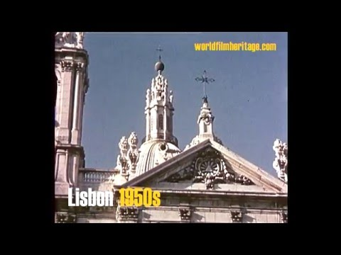 Lisboa 1950s in color - Lisbon  - Lissabon