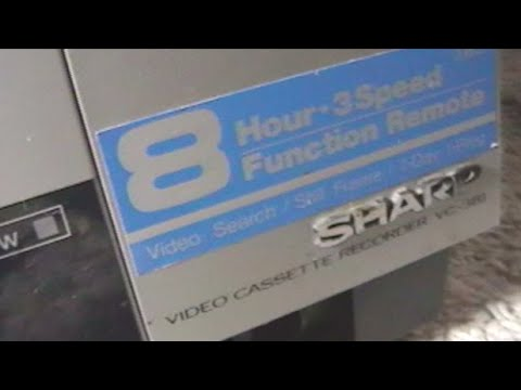 Review Of My Sharp VC-381 VCR