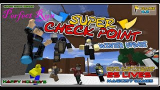 (ROBLOX) Super Checkpoint: Perfect Run