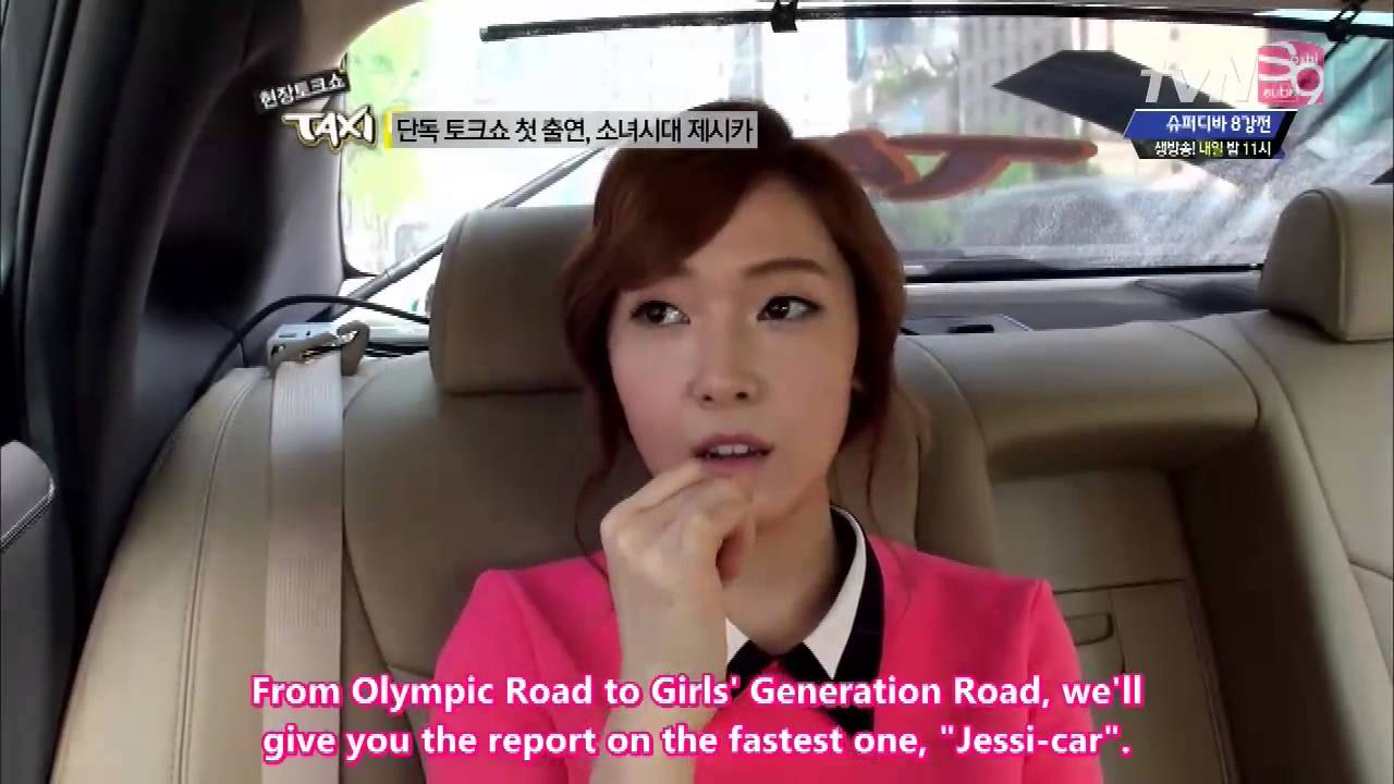 Eng Sub Tvn Taxi Ep  Snsd Jessica Part   Youtube