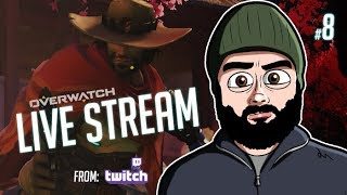 #OVERWATCH TWITCH LIVE STREAM #8   COMPETITIVE GAMES + LOADS MORE