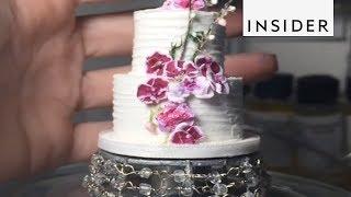 Artist Makes The Tiniest Wedding Cakes