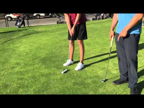 Golf Tips: BETTER PUTTING FOR GOLF- AIM and STROKE