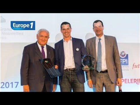 Entrepreneur du Futur, Jérôme Mouterde de DualSun sur Europe 1
