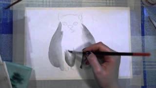 23 Ирина Колобова Урок рисования котика