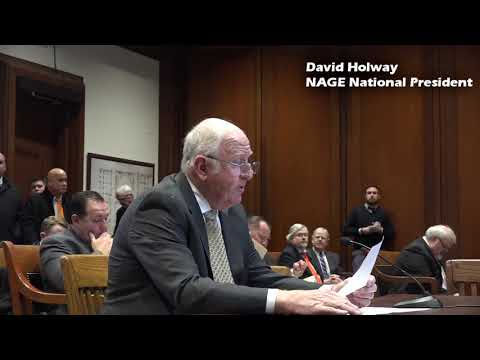 David J. Holway Testimony on HB 2558 and HB 3287