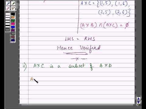 Example Cartesian Product Of Two Sets YouTube