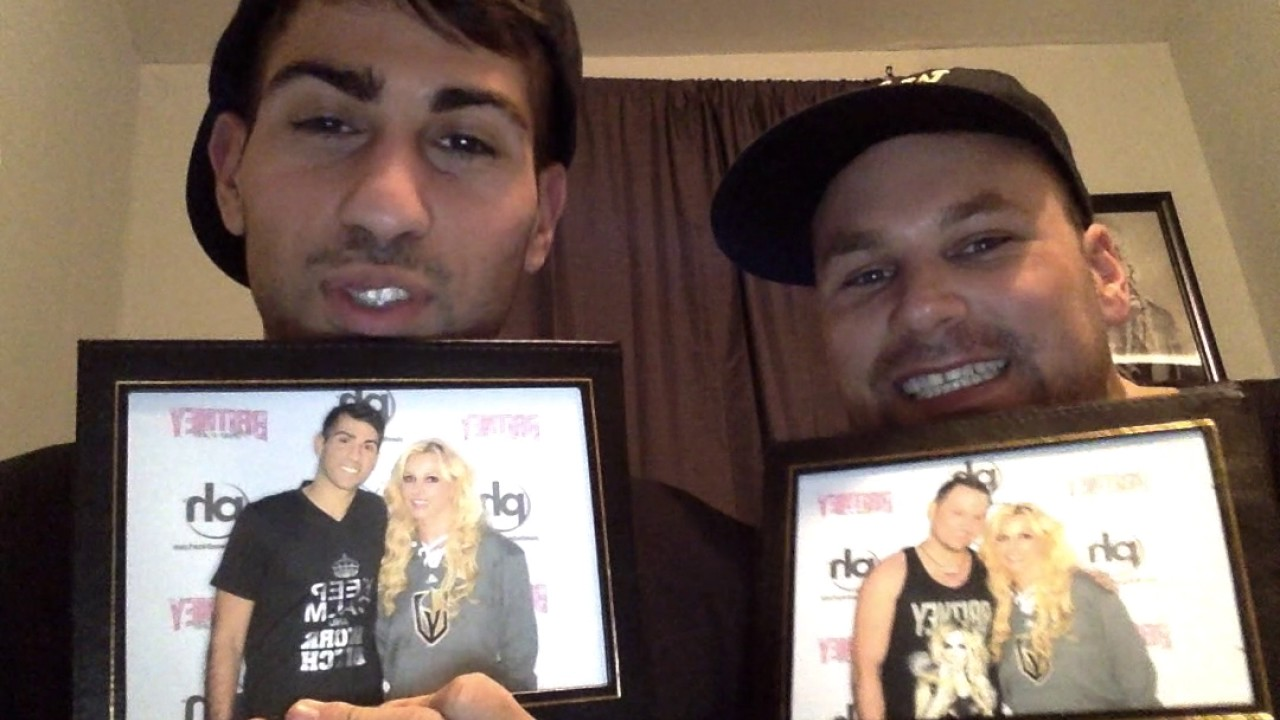 Meet and greet with britney spears piece of me youtube meet and greet with britney spears piece of me kristyandbryce Choice Image