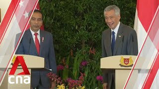 Gambar cover PM Lee Hsien Loong, President Joko Widodo speak after Leaders' Retreat | Full press conference
