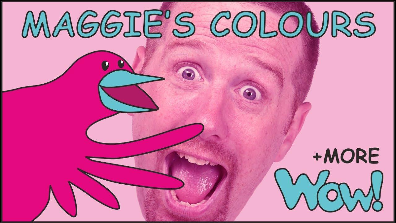 Resultado de imagen de colours video steve and maggie