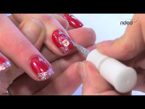 Nailart für Winter & Weihnachten für trendige Fingernägel   nded.de