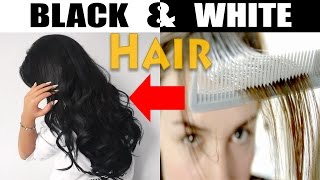 White & Weak Hair Simple Secret Treatment Change into Black with Home Remedies