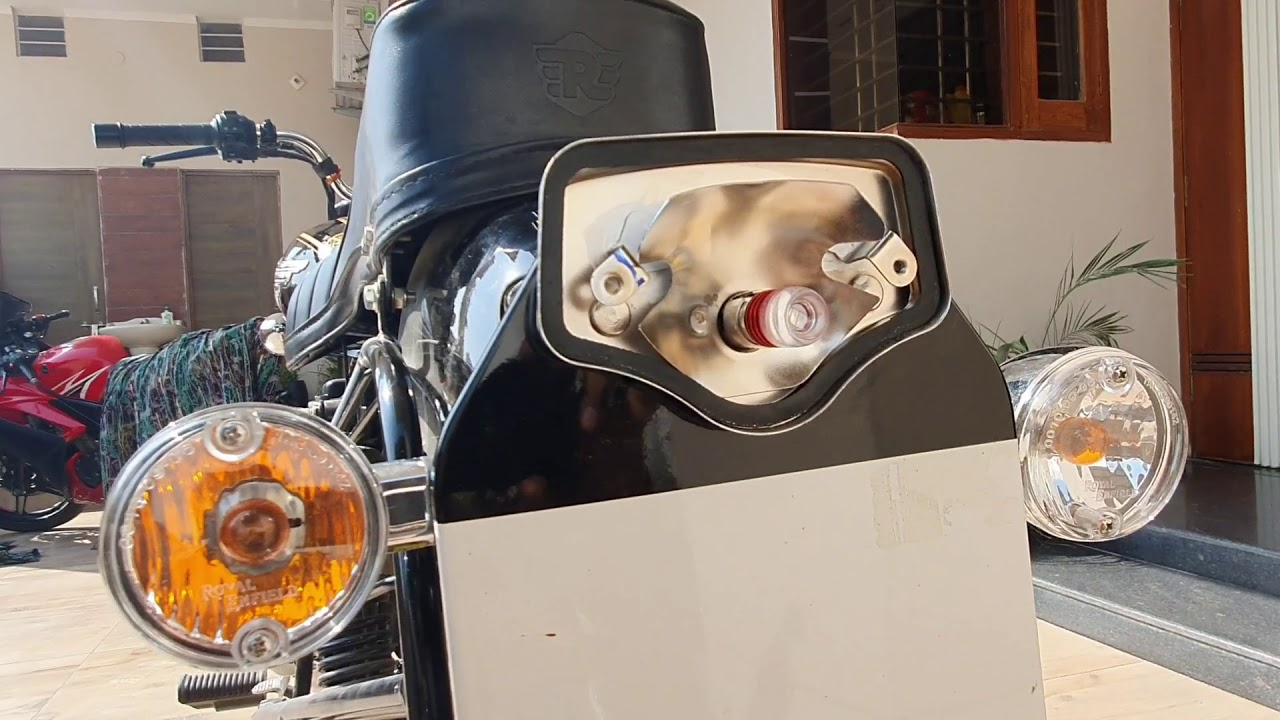 Tail Light LED Flashing Bulb For Bullet | STANDARD 350 | 2021 | Break | Blinker | Royal Enfield
