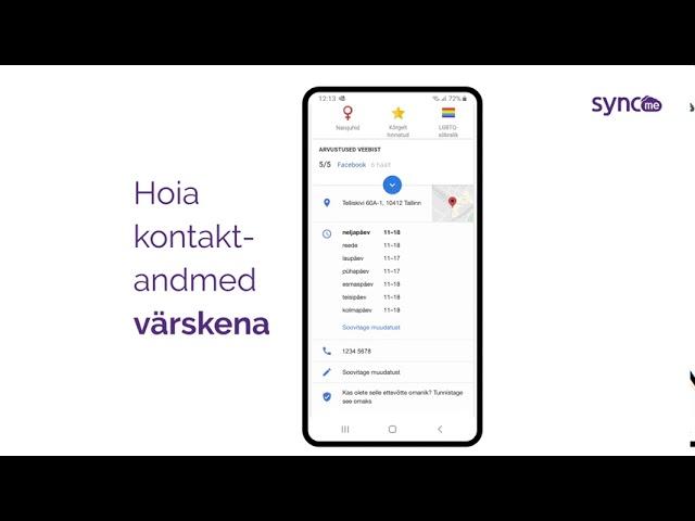 Testi oma ettevõtte digikohalolu SyncMe veebilehel