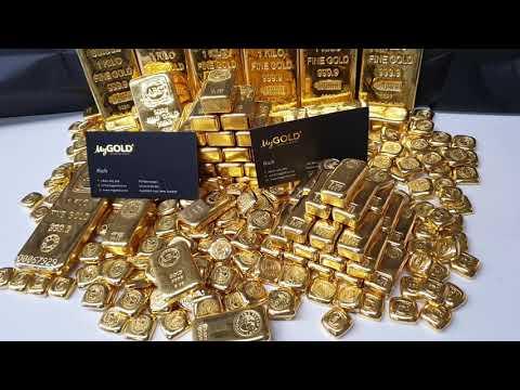 MEGA COLLECTION OF GOLD BULLION BARS! 😲