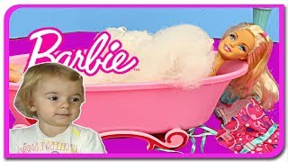 Printesa Barbie face baita  Anabella Show