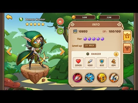 Idle Heroes - Starting in The Private Server with 34 Prophet Orbs !!
