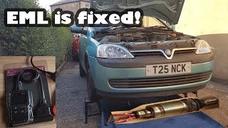 Diagnosing and Fixing the Engine Management Light - Project Vauxhall Corsa Flip EML Issues