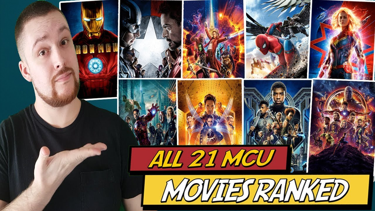 All 21 MCU Movies Ranked Worst to Best W/ Captain Marvel Review