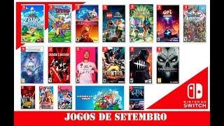 Lançamentos Setembro: Nintendo Switch - 2019