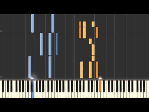 Lady Stardust (David Bowie) - Synthesia piano tutorial