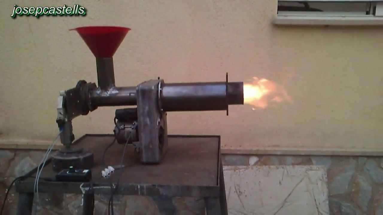 Conversion De Un Quemador De Gasoil A Biomasa Video 1