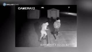 Mesquite church vandals caught on camera