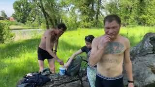 День Рождения Безумного Паши полное видео Иришка Олег Монгол Саня Бык