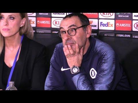 Chelsea 3-0 Malmo (Agg 5-1) - Maurizio Sarri Full Post Match Press Conference - Europa League