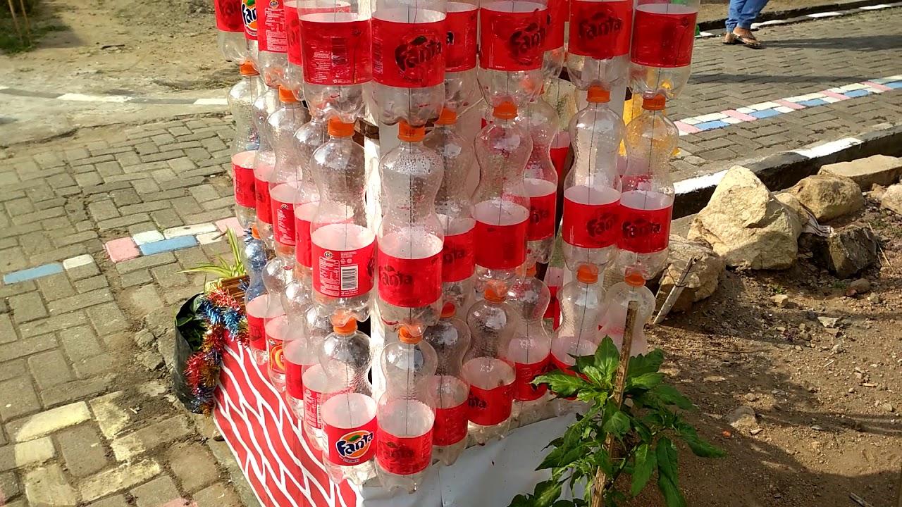 Gapura Botol Bekas Rt 11 Rw 04 Jampiroso Pemenang Juara 1 Lomba K4
