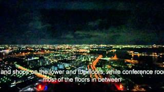 日本最大級のビル(惜しくも4位。。) コスモタワー 大阪 展望台は絶景!