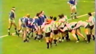 Derby légendaire Tulle vs Brive - Rugby 1980 - Quart de finale Championnat de France