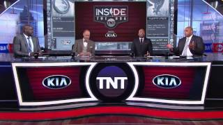 Inside The NBA: Ginobili on Non-Foul Call