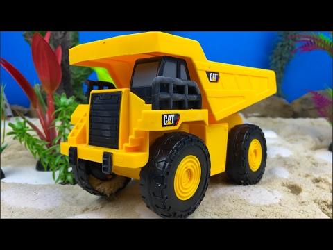 Maquinas De Construccion Para Ninos Camion De Volteo Excavadora Y