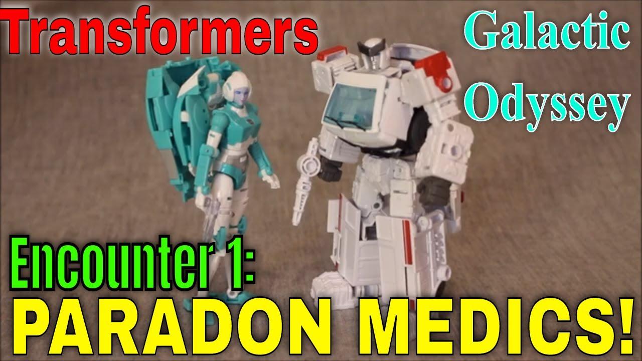 Galactic Odyssey Ecounter 1: Paradron Medics (Ratchet and Lifeline) by GotBot