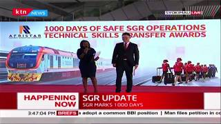 SGR marks 1000 days of safe operations by running 18 trains a day