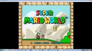 How to: Get a SNES Emulator  W/ Super Mario World Rom