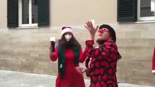 Lo spettacolo delle bolle all'Orfanotrofio di Trani