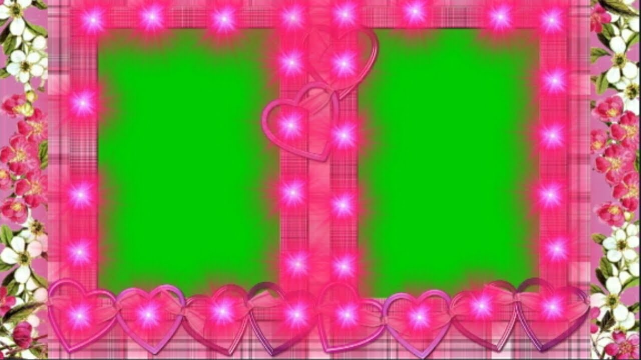Wedding Green Background Screen Frames For Wedding Photo Albums Amazing Frames Video Youtube