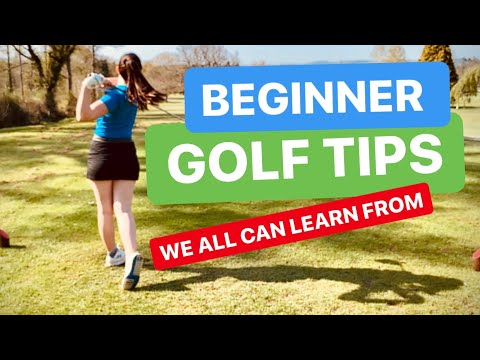 GOLF LESSONS FOR BEGINNERS THAT WE ALL CAN LEARN FROM