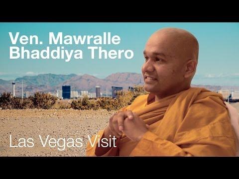 Ven. Mawralle Bhaddiya Thero   Las Vegas 2014