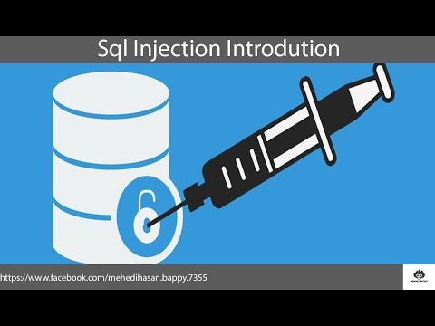 Sql Injection Series Introduction AND (Live Website Attack) Tutorial In Bangla.