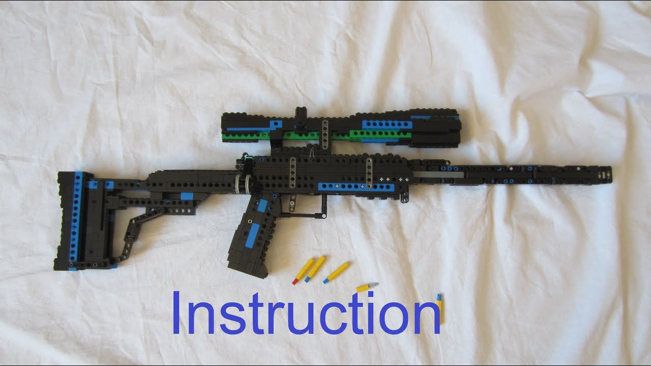 how to build a lego airsoft gun